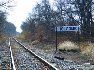 holcomb railroad tracks